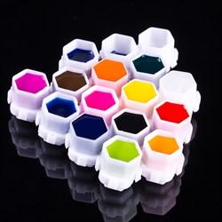 Колпачки под краску (соты) (200шт) - фото 6903
