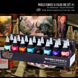 World Famous - 16 Color Ink Set - фото 7006