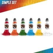 World Famous - 6 Colors Simple Set