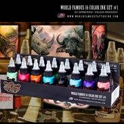 World Famous - 16 Color Ink Set