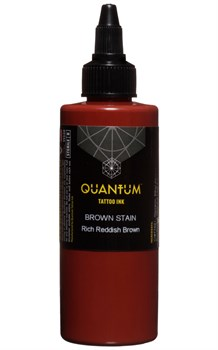 Quantum Tattoo Ink - Brown Stain - фото 8585