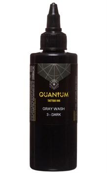 Quantum Tattoo Ink - Gray Wash - 3 Dark - фото 8615