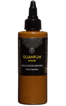 Quantum Tattoo Ink - Back Door Brown - фото 8634