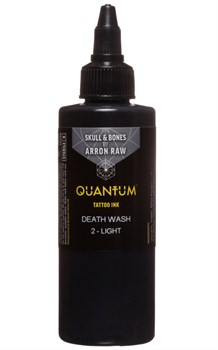 Quantum Tattoo Ink - Arron Raw Skull & Bones Greywash - 2 Light - фото 8653