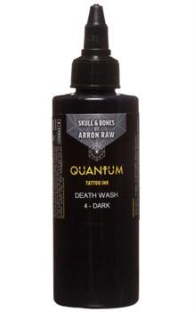 Quantum Tattoo Ink - Arron Raw Skull & Bones Greywash - 4 Dark - фото 8710