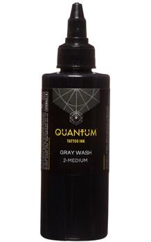 Quantum Tattoo Ink - Gray Wash - 2 Medium - фото 8747