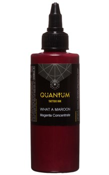 Quantum Tattoo Ink - What a Maroon - фото 8754