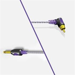 Bishop Premium Lightweight 90 Degree RCA Cord (violet) - фото 9472