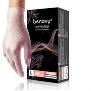 Перчатки Benovy Vinyl (прозрачные)